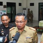Sekdaprov Lampung memberikan arahan pada Musrenbang Kabupaten Pringsewu 2018
