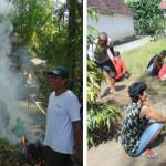 Umat Kalitengah Bersih-bersih Bantaran Kali Ujung Wedi