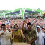 Ribuan Masyarakat di Lampung Timur Antusias Ikuti Germas