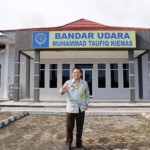 Gubernur Lampung M.Ridho Ficardo Tinjau Bandara Taufiq Kiemas Pesisir Barat