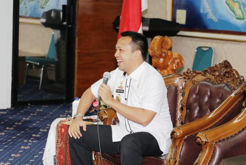 Gubernur Lampung M. Ridho Ficardo.