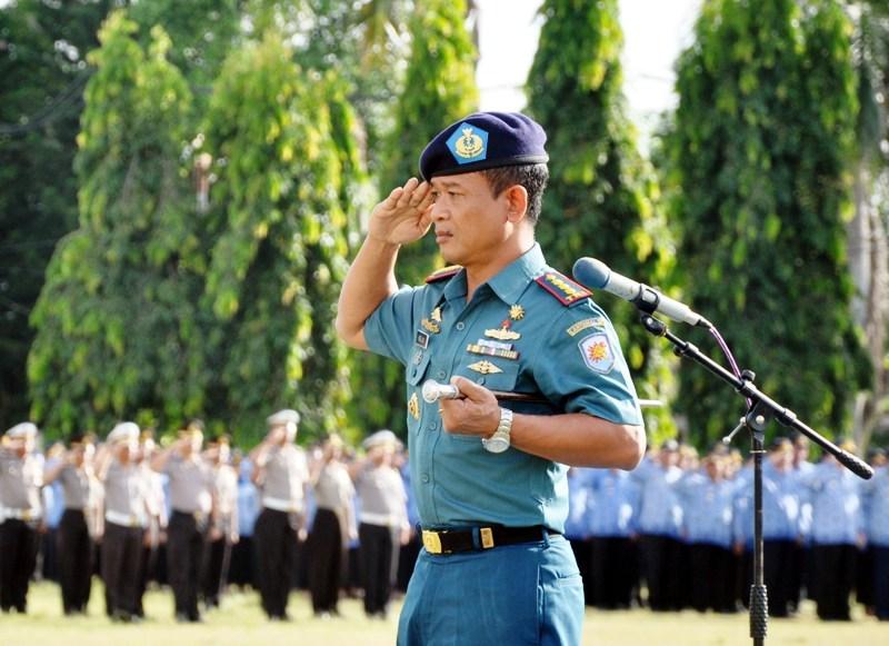Komandan Lanal Lampung Kelik Haryadi.