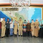 Pemprov Lampung mendapat kunjungan Komisi V DPRD Provinsi Nusa Tenggara Barat
