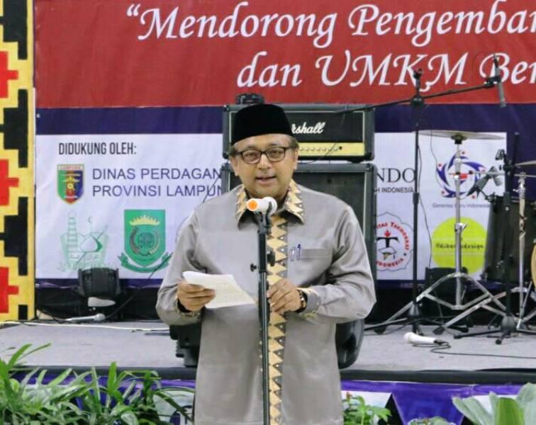 Kepala Perwakilan Bank Indonesia (BI) Provinsi Lampung Arief Hartawan.