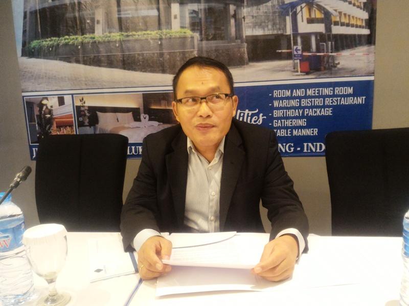 General Manager Yunna Hotel Lampung Bambang Suhendri. Foto : Robert