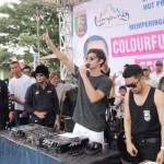 Meriahnya Colourfun Festival Lampung