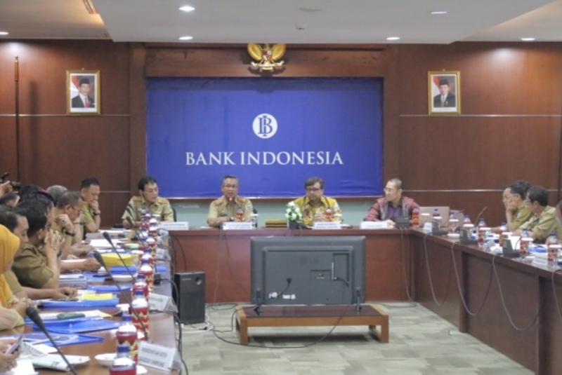 Acara High Level Workshop On Regional Invesment, Selasa 9 Mei 2017 di Aula Kantor Bank Indonesia Perwakilan Lampung.