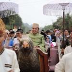 Gubernur Ridho Dapat Gelar Pangeran Raja di Lappung