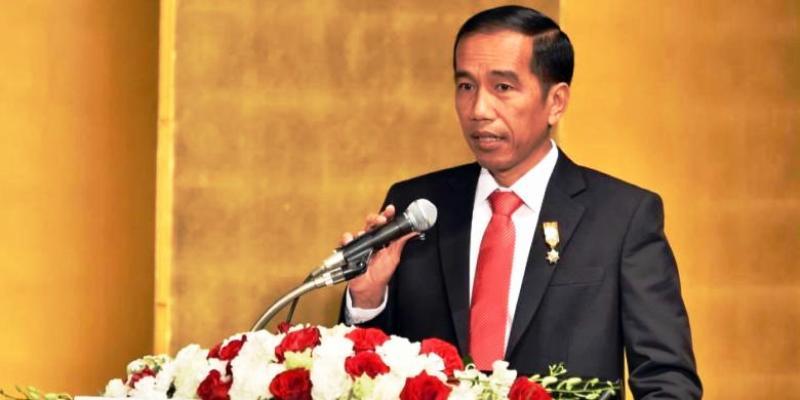 Presiden RI Joko Widodo.  (AFP PHOTO / YOSHIKAZU TSUNO)