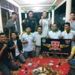 Pemuda Katolik Komcab Bandar Lampung Bantu GP Ansor dan Banser NU Dirikan Posko Mudik