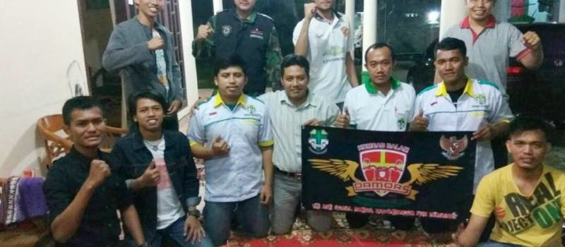 Pasukan bermotor serbaguna  (Pamors) Pemuda Katolik Komcab) Bandar Lampung.
