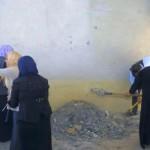 Pemuda Muslim Mosul Perbaiki Biara Katolik yang Dirusak ISIS