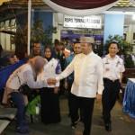 Gubernur Lampung Minta Pemudik tak Takut Masuk Terminal Rajabasa