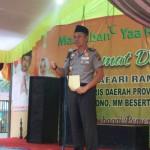 Ini bantuan Pemerintah Provinsi Lampung pada Safari Ramadhan di Kabupaten Mesuji