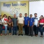 Kopdit Mekar Sai Lampung Menerima Kunjungan Dinas Koperasi  dan UKM Provinsi Sulawesi Utara