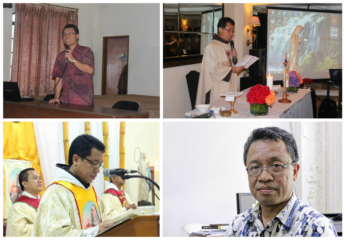Uskup terpilih untuk Keuskupan Pangkalpinang, Rm. Rm. Adrianus Sunarko OFM (poto dok.sesawi.net)