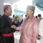 Gubernur Ridho: Idul Fitri Momen Membangun Persaudaraan Umat Beragama