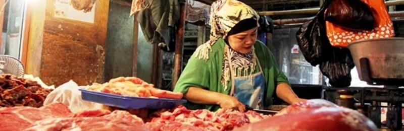 Penjual daging sapi. Foto : http://www.jitunews.com