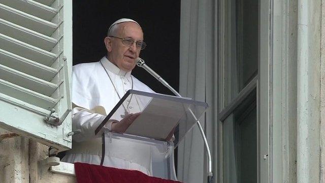 Pope Francis Sunday Angelus