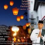 Festival Telong-Telong Terangi Kota Padang Pada 6 Agustus