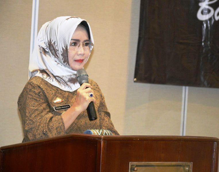 Staf Ahli Bidang Ekubang Choiria Pandarita.