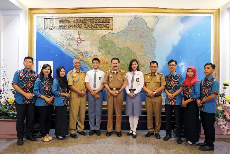 Asisten Bidang Pemerintahan dan Kesra Provinsi Lampung Hery Suliyanto