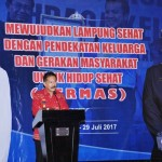 Heri Suliyanto Buka Rakerkesda Provinsi Lampung di Hotel Novotel