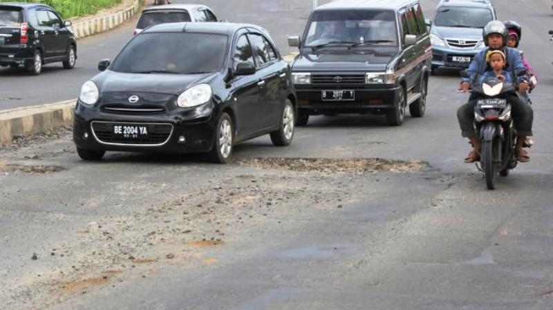 Jalan Pramuka Bandar Lampung. Foto : lampung.tribunnews.com