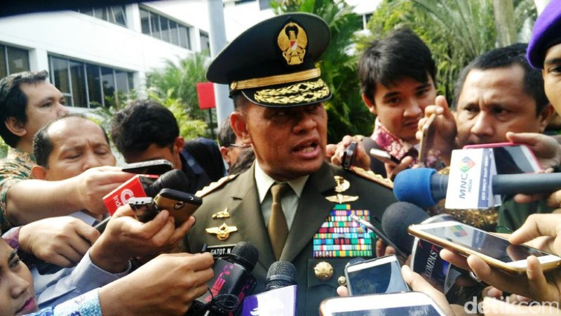 Panglima TNI Jenderal Gatot Nurmantyo. | Foto : news.detik.com