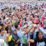 Senam Germas Lampung Raih Rekor MURI Peserta Sosialisasi Terbanyak