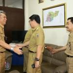 Pemerintah Provinsi Lampung melakukan sidak kedisiplinan PNS dan Non PNS