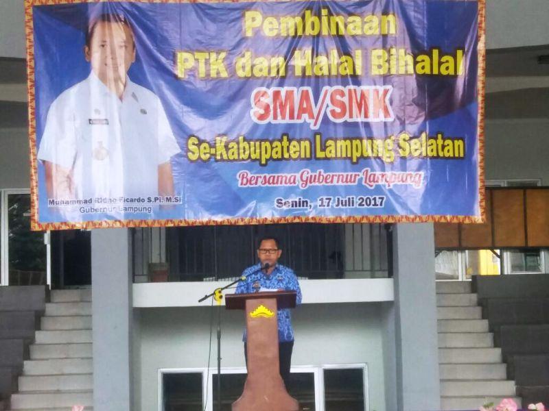 Kepala Dinas Pendidikan dan Kebudayaan Provinsi Lampung Sulpakar