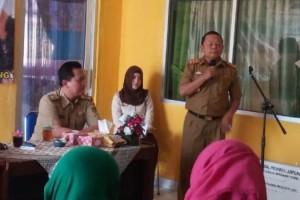 Kepala Dinas Sosial Provisni Lampung pada acara Kegiatan bimbingan teknis penerima manfaat di Dinas Sosial Kabupaten Lampung Utara, Selasa 25 Juli 2017