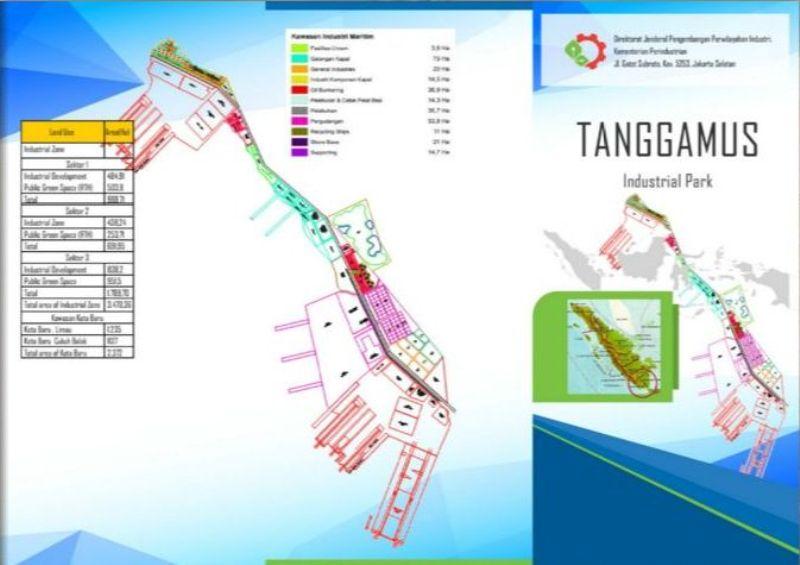Peta KIM Tanggamus, Lampung. Foto : http://lenteraswaralampung.com
