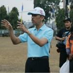Kepala Dinas Pariwisata Provinsi Lampung Budiharto Lepas Peserta Tour Krakatau