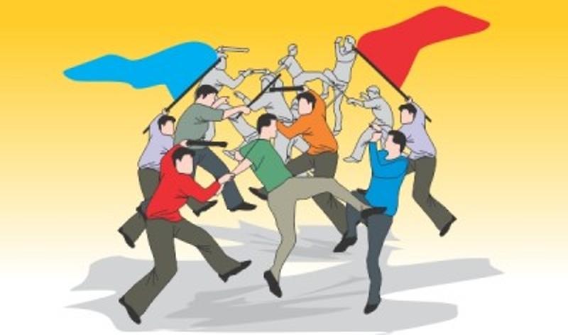 Ilustrasi konflik sosia. Foto : kabarhukum.com