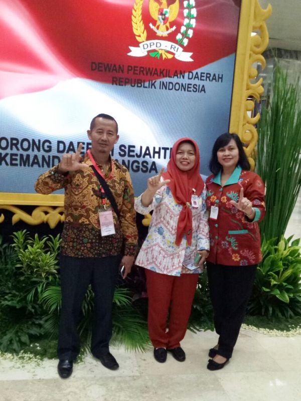 Penyuluh Lampung Herlina dan Gapoktan Fajar Utama Raih Teladan Nasional