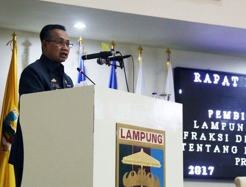 Sekretaris Daerah Provinsi Lampung, Sutono.