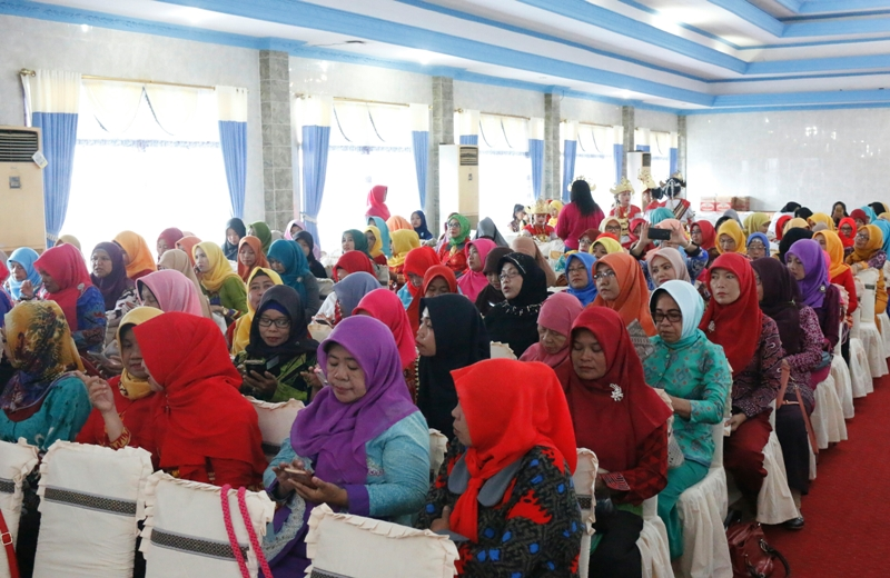 Seminar pendidikan dan workshop pemanfaatan media pembelajaran digital dan Muswil DPW AGPAII Provinsi Lampung, di Hotel Nusantara Bandar Lampung, Sabtu 9 September 2017.