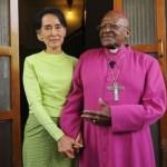 """Uskup Desmon Tutu Kecam Suu Kyi: """"Sikap Diam Anda"""" Menambah Kepedihan"""