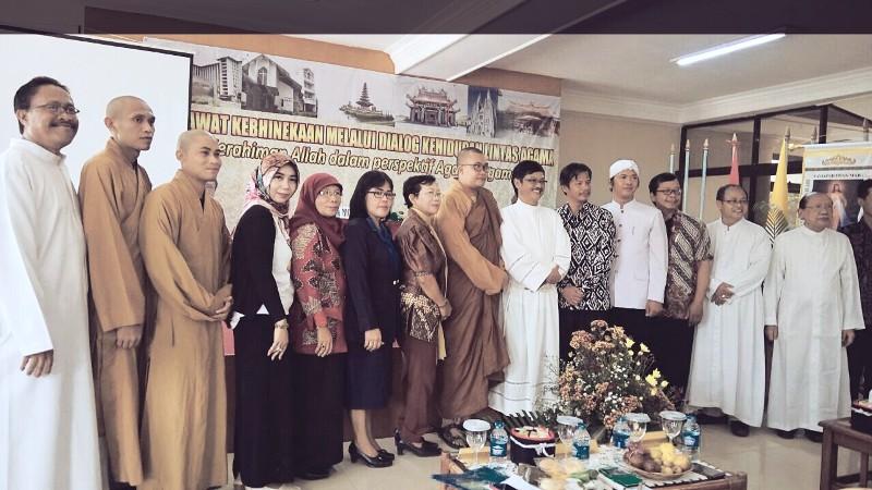 Aula Gereja Ratu Damai Teluk Betung Bandar Lampung, Sabtu 23 September 2017.