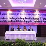 Pemprov Lampung Dukung KPPI Raih Kuota 30% di Parlemen