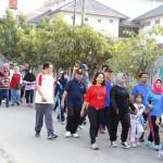 Hari Perhubungan Nasional Lampung Diisi Jalan Sehat dan Gowes Sepeda