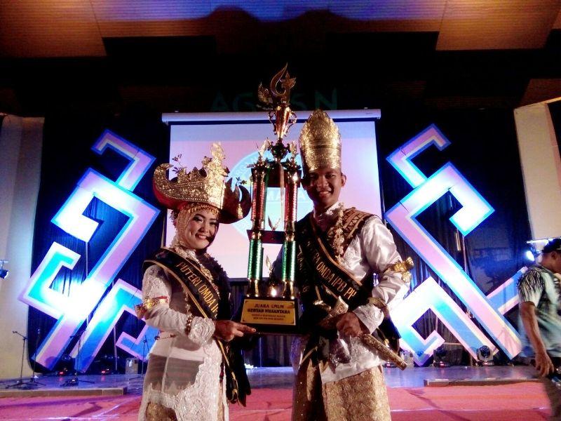 Andhika Maharta dan Rachmi Wildan Agnia Meutia Putri sebagai peserta dan meraih Juara Umum dan Best Photogenic di Gebyar Nusantara 2017.