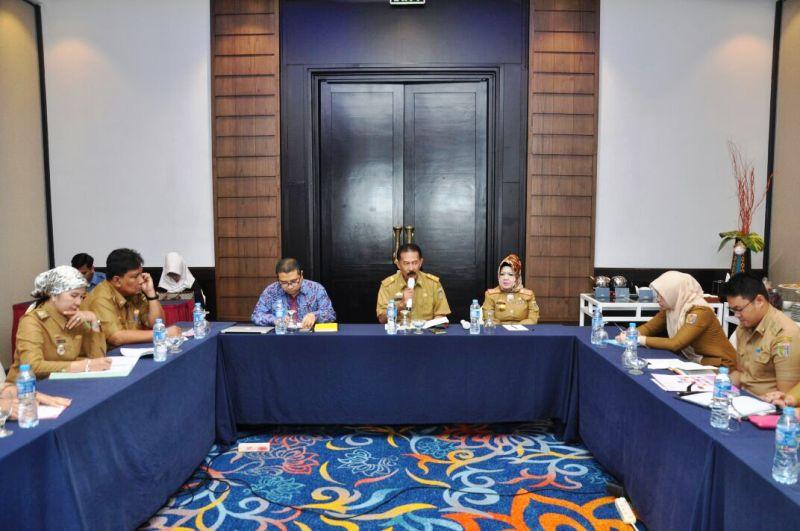 Acara Focus Group Discussion (FGD) dalam rangka melakukan kajian kapasitas kelembagaan gizi di Indonesia di Hotel Sheraton, Selasa 5 September 2017