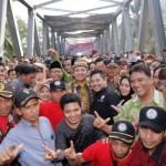 Gubernur Ridho Resmikan Jembatan Terpanjang yang Dibangun Pemprov Lampung