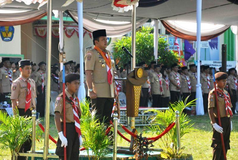 Ketua Majelis Pembimbing Daerah (Mabida) Gerakan Pramuka Lampung, M. Ridho Ficardo