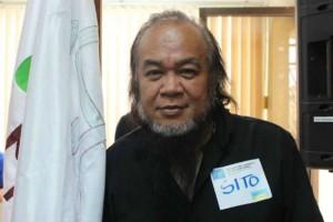 Pastor Teresito Soganub, yang bisa dipanggil Chito, namun digambar ini mengenakan tag bertulis Sito, bebas dari penyanderaan teroris di Marawi. (Facebook PIA Lanao del Sur)