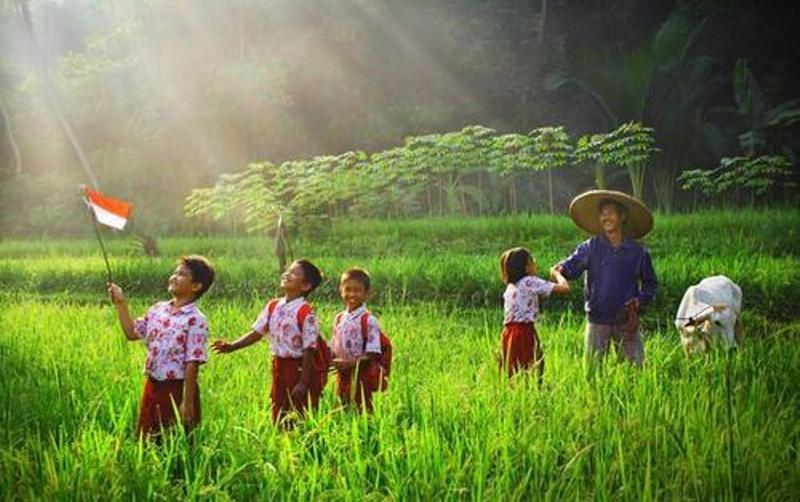 Ilustrasi anak petani. (Foto: sapamedia.co.id)