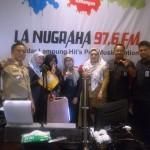 Talkshow di PRSSNI, Kepala BPS Lampung Tekankan Pentingnya Data dalam Pembangunan